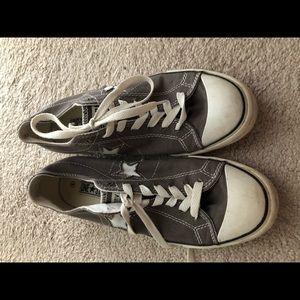 Converse - grey - one star